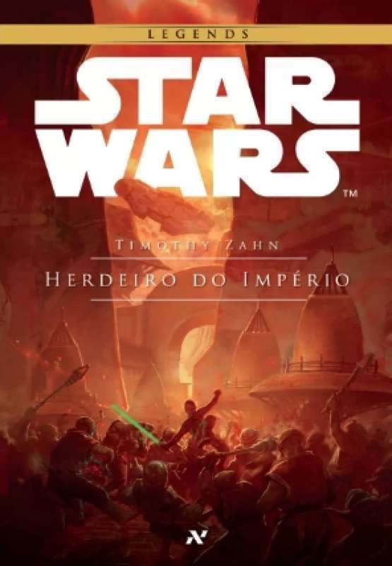 STAR WARS - HERDEIRO DO IMPERIO - 9788576571988