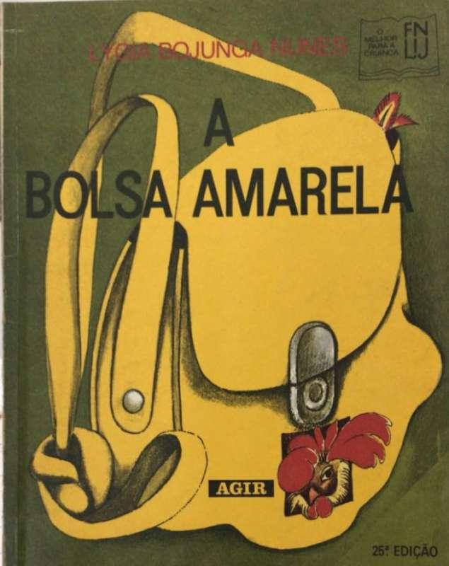 dceb830d0 Livro: A Bolsa Amarela - LYGIA BOJUNGA NUNES - Sebo Online Container ...