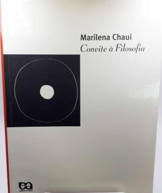 Livro Convite à Filosofia Marilena Chaui Sebo Online Container