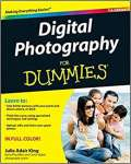 Digital Photography for Dummies - sebo online